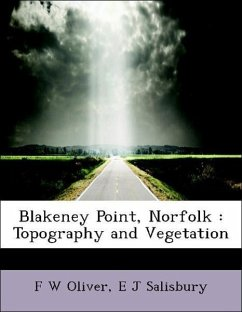 Blakeney Point, Norfolk : Topography and Vegetation