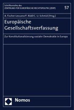 Europäische Gesellschaftsverfassung