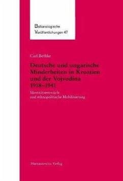 Deutsche und ungarische Minderheiten in Kroatien und der Vojvodina 1918-1941 - Bethke, Carl