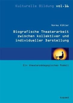 Biografische Theaterarbeit zwischen kollektiver...