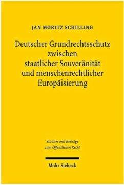 Deutscher Grundrechtsschutz zwischen staatliche...