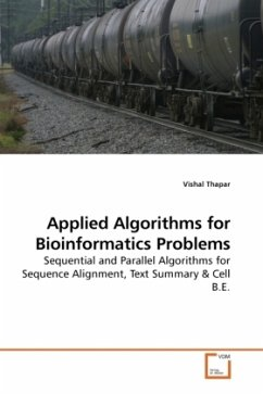Applied Algorithms for Bioinformatics Problems