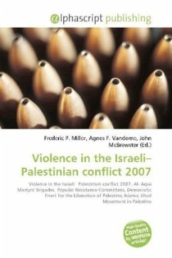 Violence in the Israeli-Palestinian conflict 2007