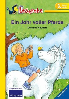 Ein Jahr voller Pferde / Leserabe - Neudert, Cornelia