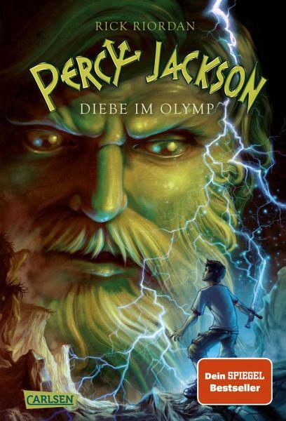 Buch-Reihe Percy Jackson von Rick Riordan