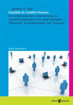 Sozialität als Conditio Humana - Klein, Rebekka A.