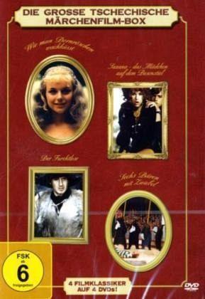 Die große tschechische Märchenfilm Box