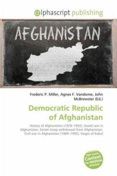 Democratic Republic of Afghanistan