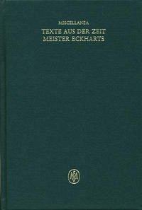 Miscellanea / Texte aus der Zeit Meister Eckharts