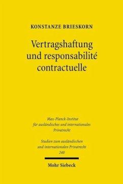 Vertragshaftung und responsabilité contractuelle - Brieskorn, Konstanze