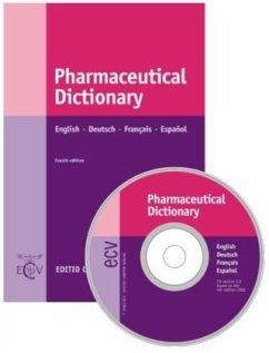 Pharmaceutical Dictionary. Book + CD-ROM - Maas, Anita; Brawley, James