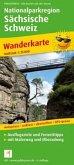 PublicPress Wanderkarte Nationalparkregion Sächsische Schweiz