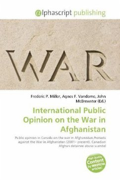 International Public Opinion on the War in Afghanistan