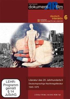 Literatur des 20. Jahrhunderts II. Tl.2, 2 DVD-Video