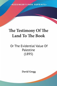The Testimony Of The Land To The Book
