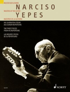 Narciso Yepes, Die schönsten Stücke aus seinem Repertoire, Gitarre