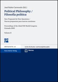 Political Philosophy / Filosofía política