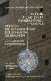 Versuch die Metamorphose der Pflanzen zu erklären. Dt. /Isländ.