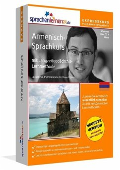 Armenisch-Express-Sprachkurs, CD-ROM m. MP3-Audio-CD