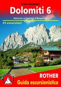 Dolomiti / Dolomiti 6 (Dolomiten 6 - italienische Ausgabe)