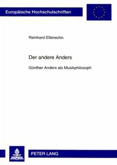 Der andere Anders - Ellensohn, Reinhard
