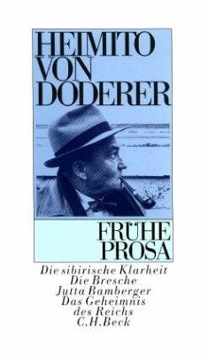 Frühe Prosa - Doderer, Heimito von