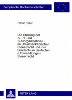Die Stellung der A-, B- und C-reorganizations i...