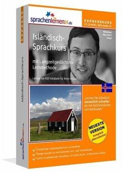 Isländisch-Express-Sprachkurs, CD-ROM m. MP3-Au...