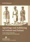 Agrarfrage und Aufklärung in Lettland und Estland