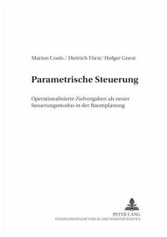 Parametrische Steuerung - Cools, Marion; Fürst, Dietrich; Gnest, Holger
