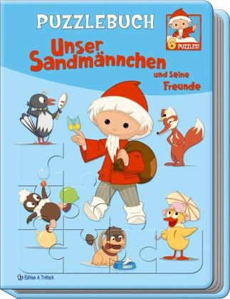 Puzzlebuch Unser Sandmännchen