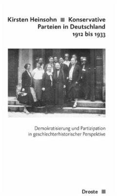Konservative Parteien in Deutschland 1912 bis 1933