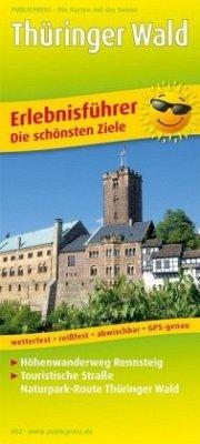 PublicPress Erlebnisführer Thüringer Wald mit R...