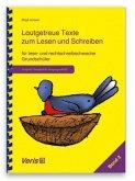 Lautgetreue Texte. Band 2. Vereinfachte Ausgangsschrift