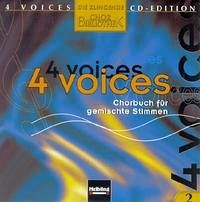 4 voices - CD Edition. Die klingende Chorbibliothek. CD 2. 1 AudioCD