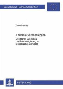 Föderale Verhandlungen - Leunig, Sven
