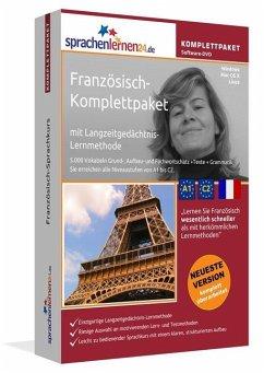 Französisch-Komplettpaket, DVD-ROM