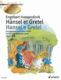 Hänsel et Gretel / Hansel e Gretel, Klavierauszug