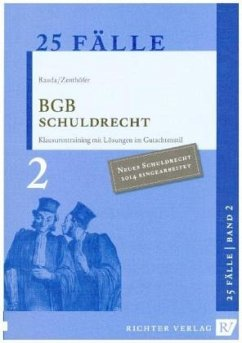 BGB Schuldrecht - Rauda, Christian; Zenthöfer, Jochen