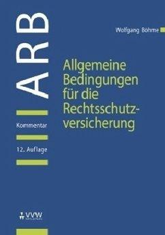 Allgemeine Bedingungen für die Rechtsschutzvers...