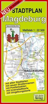 Doktor Barthel Stadtplan Magdeburg