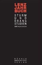 Lenz-Jahrbuch 2000/2001 Sturm-und-Drang-Studien