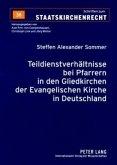Teildienstverhältnisse bei Pfarrern in den Gliedkirchen der Evangelischen Kirche in Deutschland