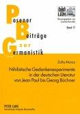 Nihilistische Gedankenexperimente in der deutschen Literatur von Jean Paul bis Georg Büchner