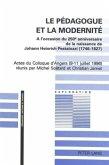 Le pédagogue et la modernité