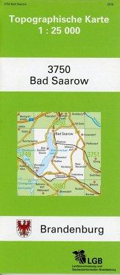 Bad Saarow 1 : 25 000