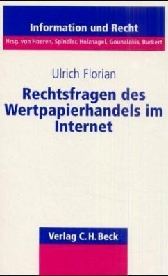 Rechtsfragen des Wertpapierhandels im Internet