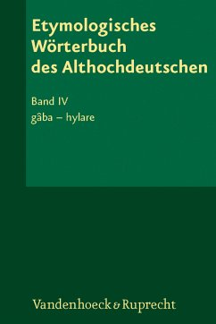 Etymologisches Wörterbuch des Althochdeutschen, Band 004 / Etymologisches Wörterbuch des Althochdeutschen, Band 4