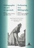 Bibliographie des arts du spectacle- Performing Arts Bibliography
