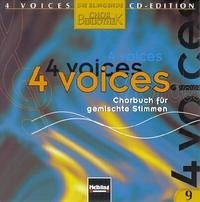 4 voices - CD Edition. Die klingende Chorbibliothek. CD 9. 1 AudioCD